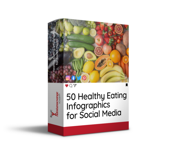 healthy eating infographics for social media