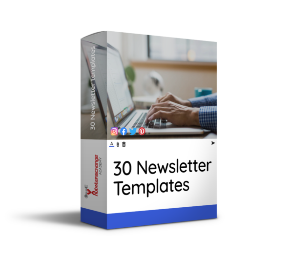 newsletter templates product image