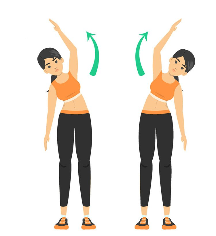 Side stretches